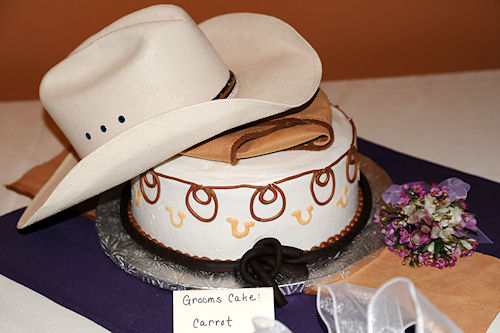 Wedding Reception - Groom's Cake