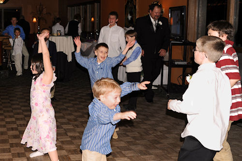 Wedding Reception - Kids Dancing