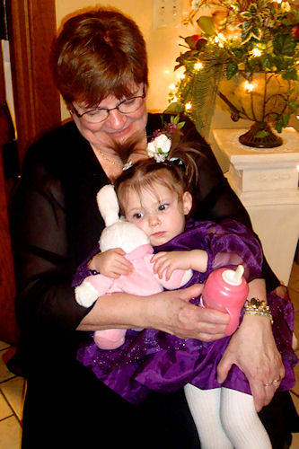Wedding Reception - Peanut and Great Grandma