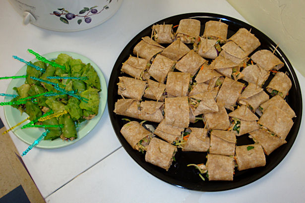 Childhood Nutrition - Chicken and Lettuce Wraps