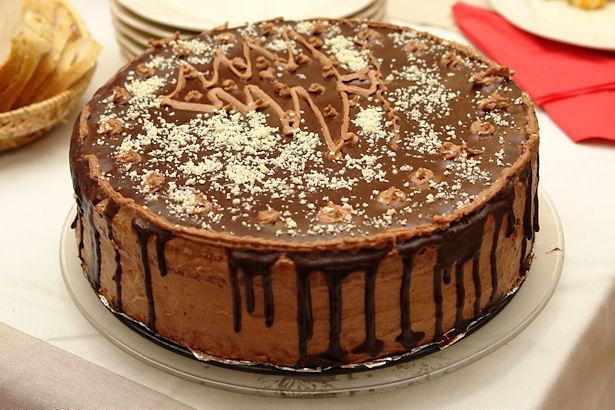 Dedicated Server and Chocolate Cake