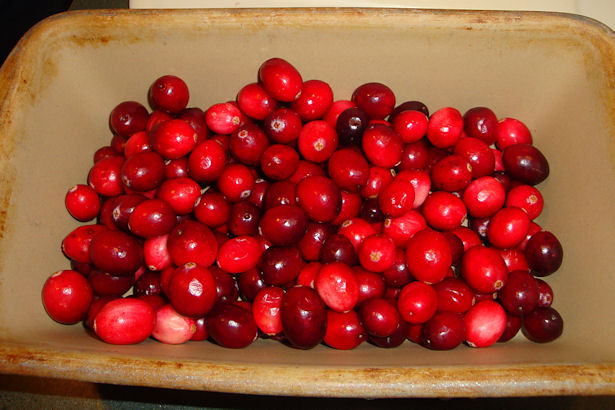 Drunken Cranberries -