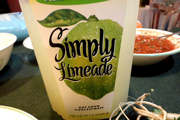 Easy Margarita Recipe - Limeade