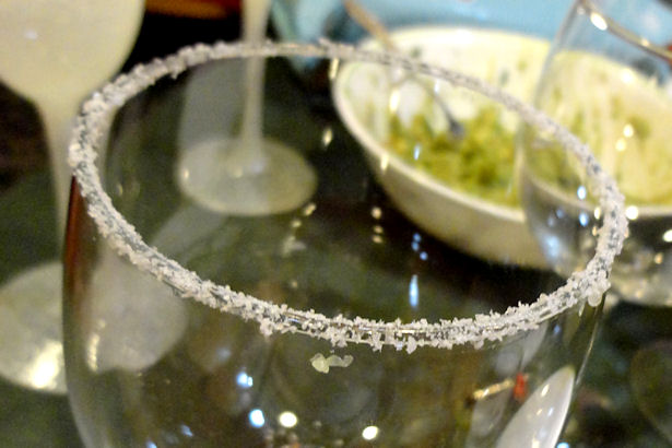Easy Margarita Recipe - Salted Rim
