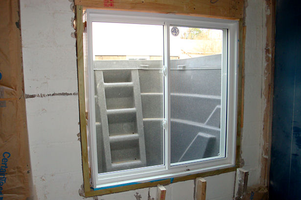 Egress Window - Digger Digging