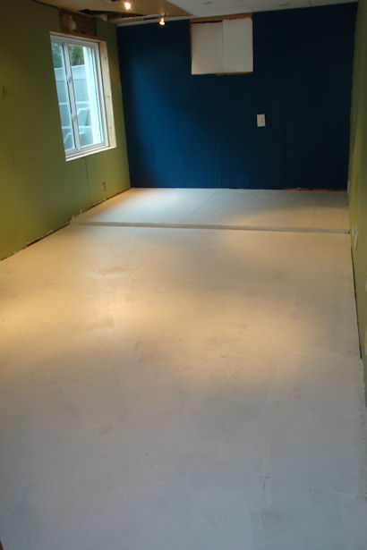 Egress Window - Floor Primed
