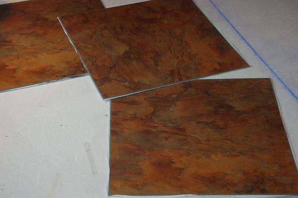 Egress Window - Self Adhesive Tiles