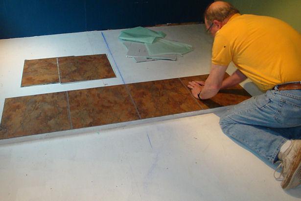 Egress Window - First Tiles Go Down!