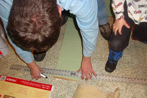 Egress Window - Measuring the Panelling