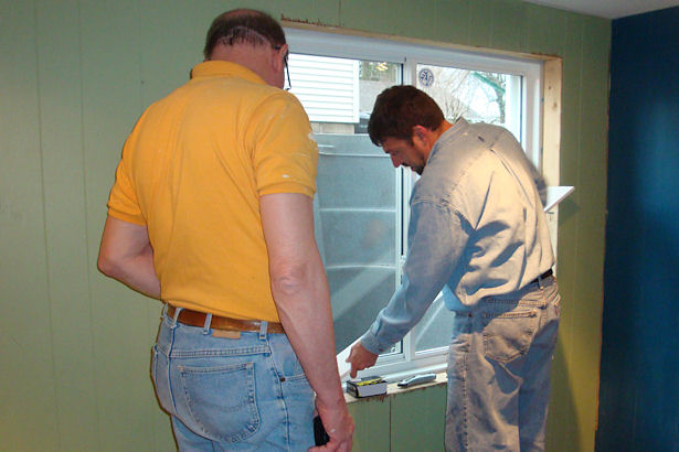 Egress Window - Trimming the Window