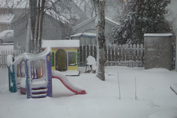 Egress Window - Snow