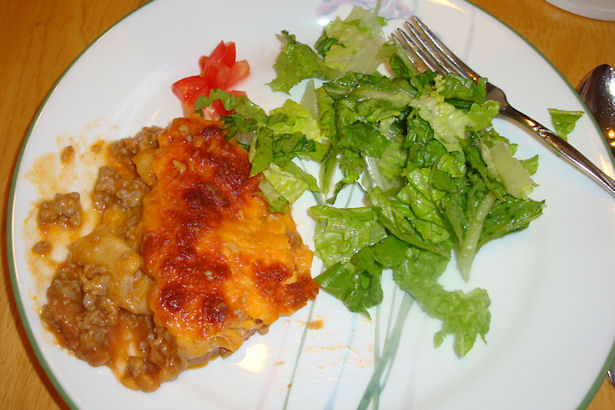 Enchilada Casserole Recipe - Time to Eat