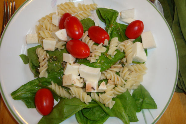 Healthy Spinach Salad Recipe - Yum!