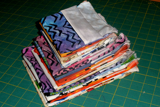 Make a Reusable Sandwich Bag - Stack of Bags