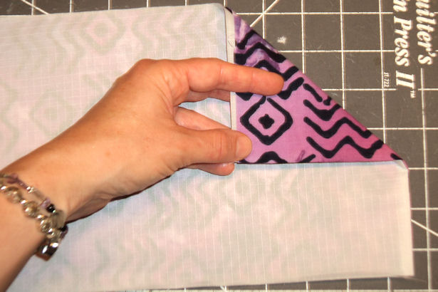 Make a Reusable Sandwich Bag - Press Seam