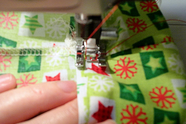 Make Cloth Gift Bags - Cut