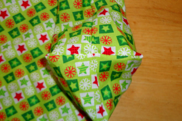 Make Cloth Gift Bags - Square Corner