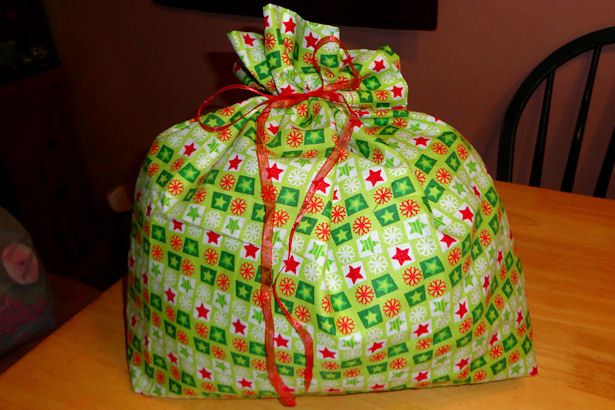 Make Cloth Gift Bags