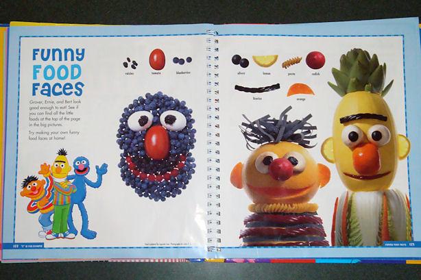 Ernie and Bert in Food