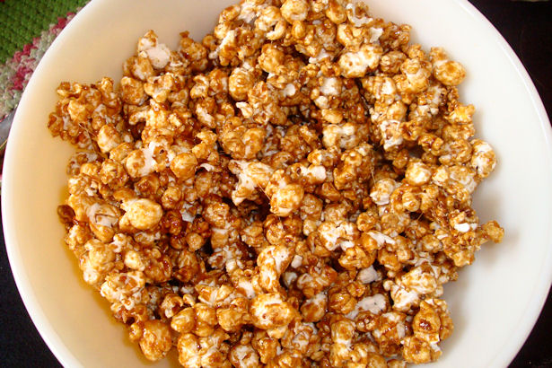 Microwave Caramel Corn Recipe - Stir and Cook More