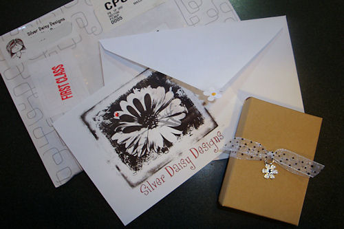 Silver Daisy Designs Packaging