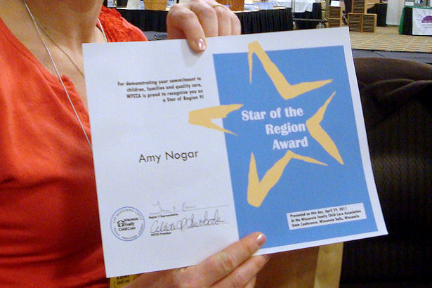 Star of the Region Award -
