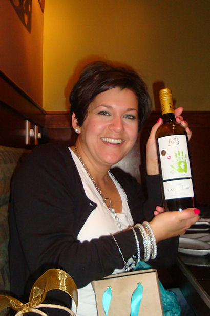 VAEYC Dinner 2011 - Carie with Wine