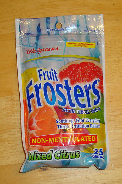 Walgreens Brand Fruit Frosters