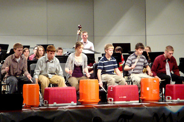 Winterfest 2011 - Percussion