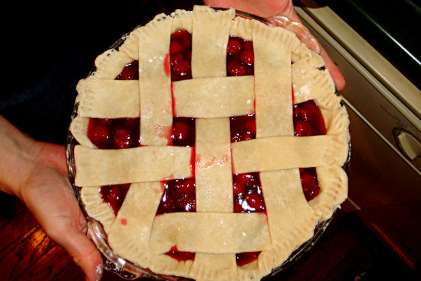 Best Cherry Pie Recipe - Trim and Crimp
