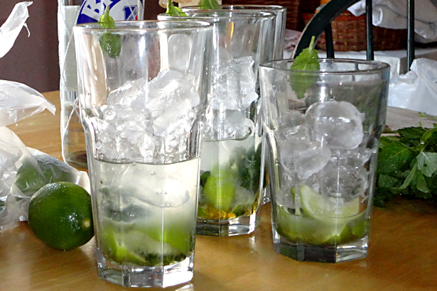 Best Mojito Recipe - Ice