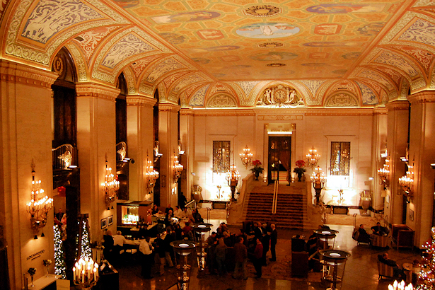 Chicago 2012 Part Seven - Palmer House Lobby