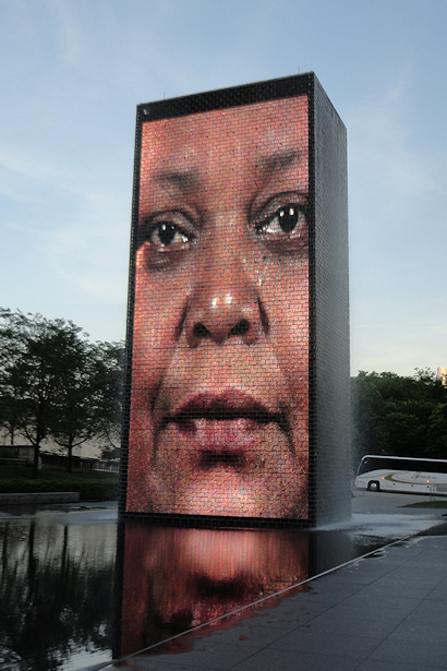 Chicago 2012 Part Seven - Other Crown Fountain Face