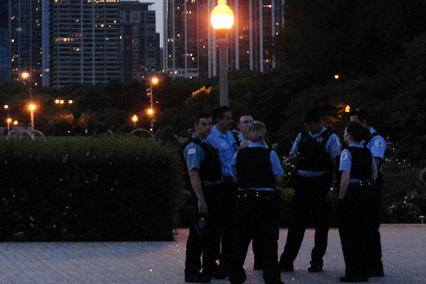 Chicago 2012 Part Seven - Police in the Park