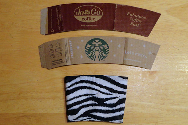 Coffee Sleeve Tutorial - Pattern