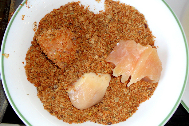 Homemade Chicken Nuggets - Bread Crumbs