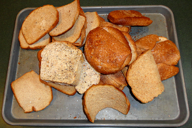 Italian Seasoned Bread Crumbs - Oven Toasting