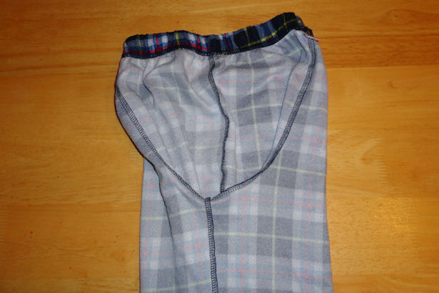 Make Kid's Pajama Pants - One Leg Inside
