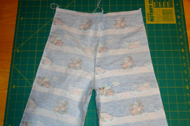 Make Kid's Pajama Pants - Almost Done