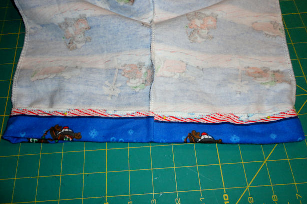 Make Kid's Pajama Pants - Pin Waist Casing