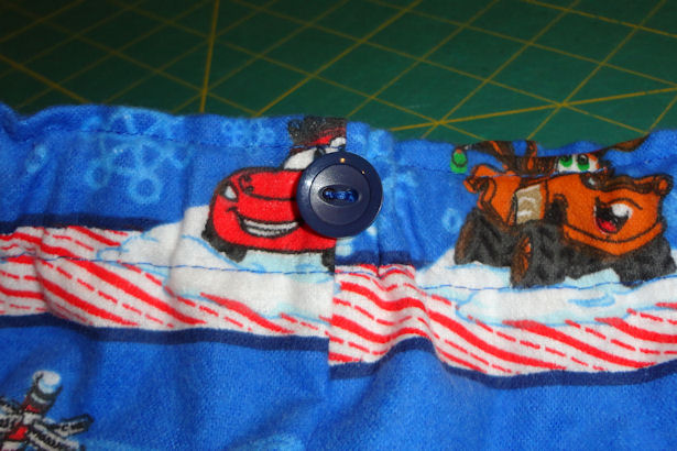 Make Kid's Pajama Pants - Button
