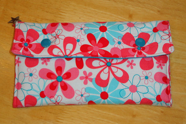 Sewing Box Wallet - Outside
