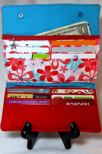 Sewing Box Wallet - Inside