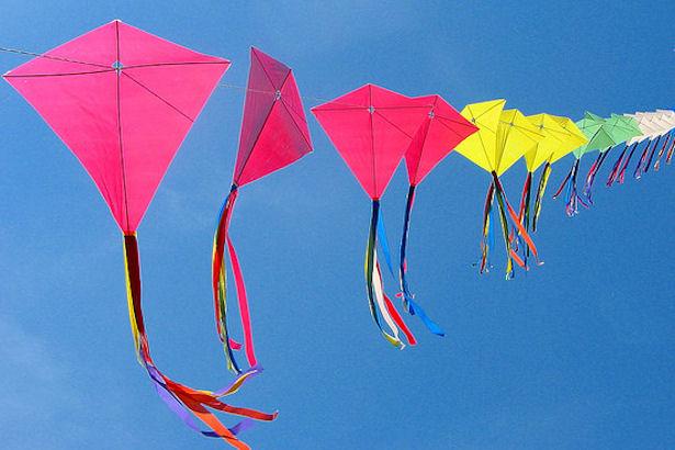 Kites on a Line
