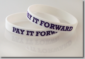 Pay it Forward Wristbands