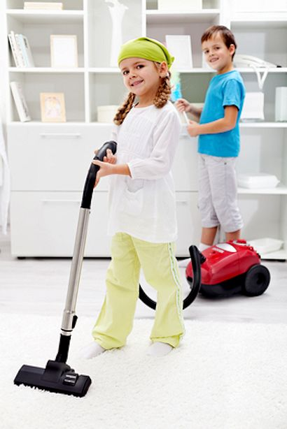 children cleaning - photo #13