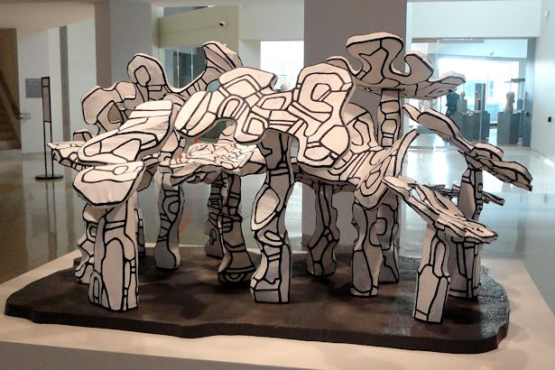 Chicago 2013 Part Five - Dubuffet Sculpture