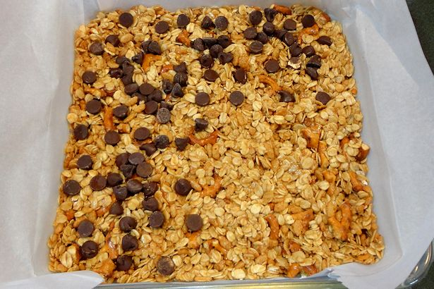 Homemade Granola Bars -