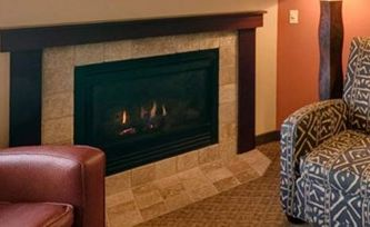 Kalahari Resort - Fireplace