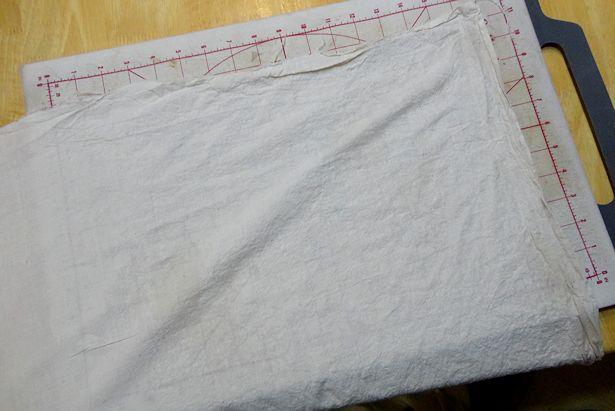 Make Basket Liners - Iron Fabric